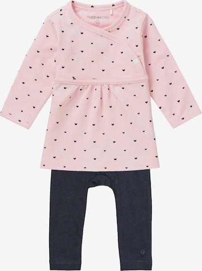 Noppies Set in dunkelblau / pink, Produktansicht