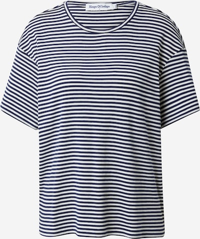 Kings Of Indigo T-shirt 'AMABEL' i marinblå / vit, Produktvy