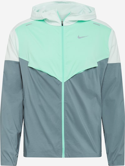 NIKE Sports jacket in grey / mint, Item view