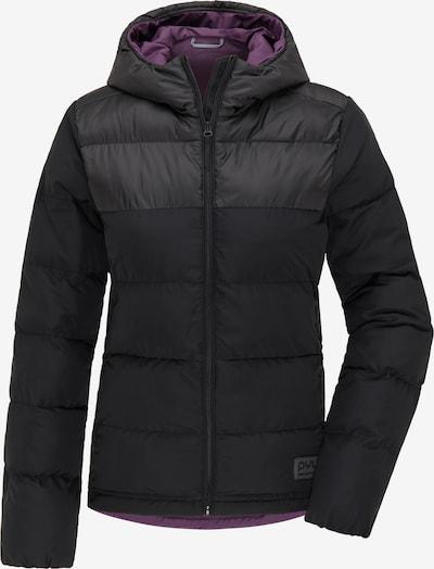 PYUA Outdoorjas in de kleur Zwart, Productweergave