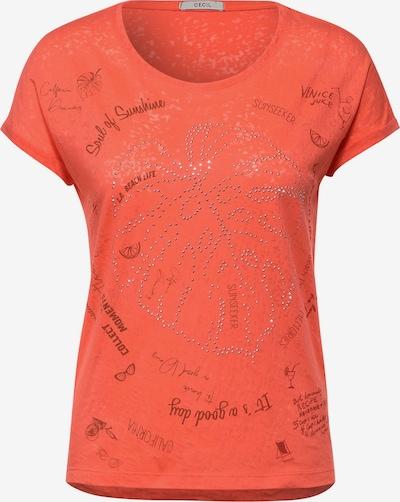 CECIL Camiseta en naranja, Vista del producto