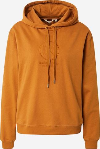 basic apparel Sweatshirt 'Maje' in Orange