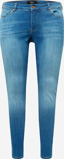 Zizzi Jeans 'SANNA' in blue denim, Produktansicht