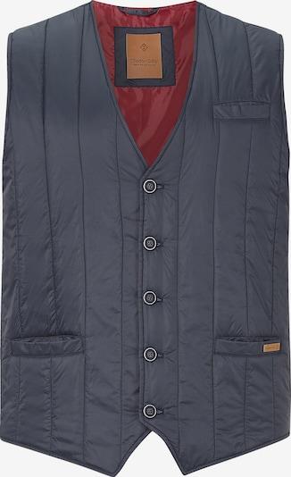 Charles Colby Bodywarmer 'Duke John' in de kleur Navy, Productweergave