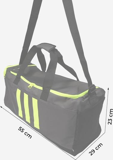ADIDAS ORIGINALS Sporttasche in dunkelgrau / neongrün, Produktansicht