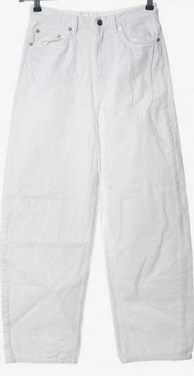 Arket Jeansschlaghose in 27-28 in weiß, Produktansicht