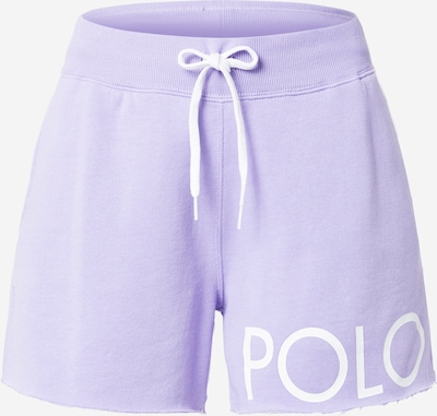 Polo Ralph Lauren Pants in Lavender / White, Item view
