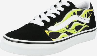 Sneaker 'Old Skool' VANS di colore giallo chiaro / nero / bianco, Visualizzazione prodotti