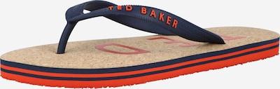 Ted Baker Žabky 'Donel' - tmavomodrá / oranžová, Produkt