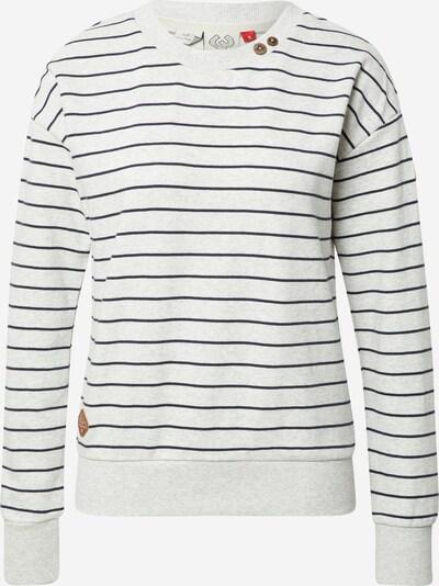 Ragwear Sweatshirt 'MAIKEN' in marine / weißmeliert, Produktansicht