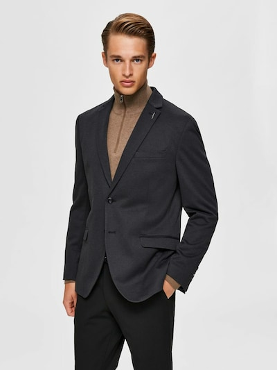 SELECTED HOMME Sakko 'Byron' in graphit / dunkelgrau: Frontalansicht