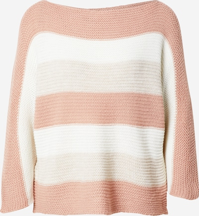 Hailys Sweater 'Alina' in Beige / Pink / White, Item view