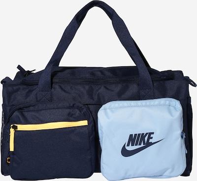 Nike Sportswear Sac 'FUTURE' en bleu marine / bleu clair / jaune, Vue avec produit