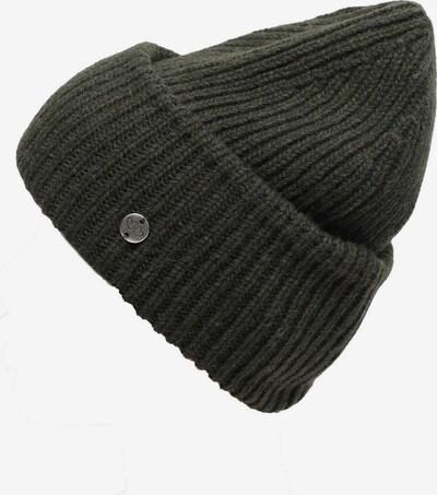 Zwillingsherz Mütze in khaki, Produktansicht
