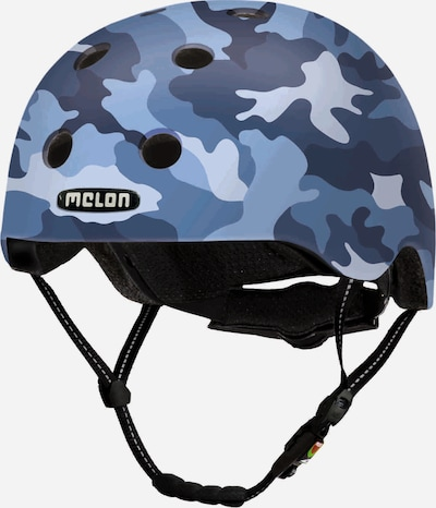Melon Helm 'Camouflage Blue' in blau / taubenblau / hellblau, Produktansicht