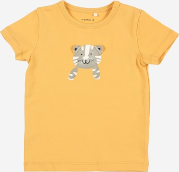 NAME IT T-Shirt 'JAMES' in Gelb