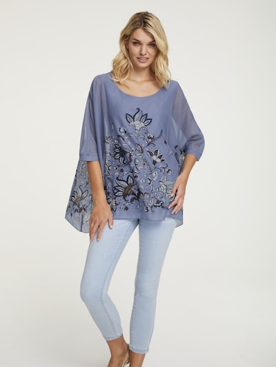 heine Tunic in Smoke blue, View model