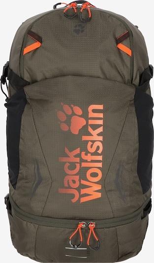 JACK WOLFSKIN Rucksack 'Moab Jam' in khaki / orange / schwarz, Produktansicht