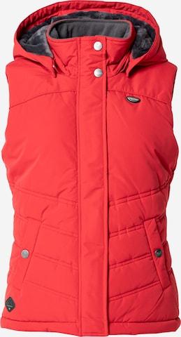 Ragwear Vest 'HESTY' in Red