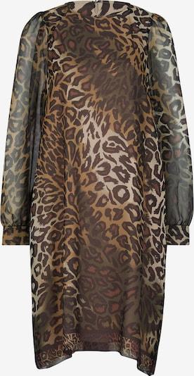 Luisa Cerano Kleid in beige / hellbraun / dunkelbraun, Produktansicht