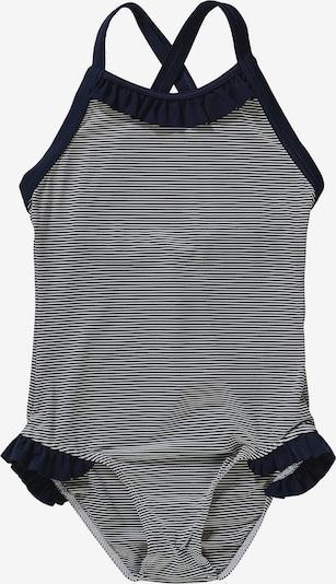 PETIT BATEAU Badeanzug in navy / weiß, Produktansicht