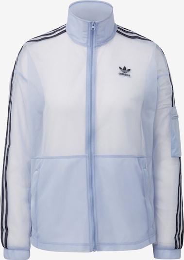 ADIDAS ORIGINALS Sweatvest in de kleur Pastelblauw / Zwart, Productweergave