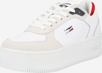 Sneaker low de la Tommy Jeans pe alb