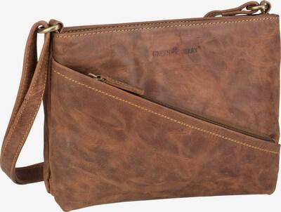 GREENBURRY Sac à bandoulière ' Vintage 1582 ' en marron, Vue avec produit
