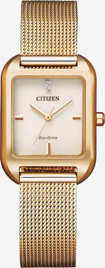 CITIZEN Citizen Solaruhr in gold, Produktansicht