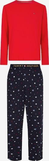 TOMMY HILFIGER Pyjama Set in blau / rot, Produktansicht