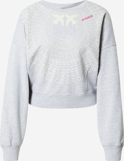 PINKO Μπλούζα φούτερ 'ADA' σε γκρι / ροζ / λευκό, Άποψη προϊόντος