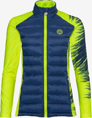 BIDI BADU Athletic Jacket 'Lee Tech' in Yellow