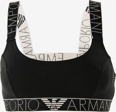Emporio Armani Bustier in schwarz / weiß, Produktansicht