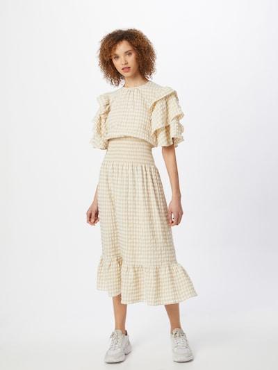 Stella Nova Kleid 'Shine' in beige / creme, Modelansicht