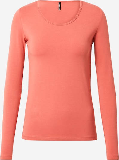 ONLY Shirt in pastellrot, Produktansicht