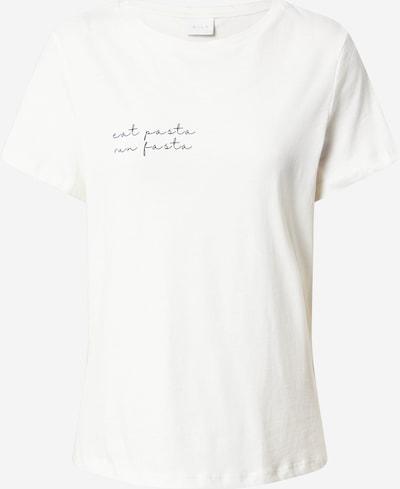 VILA T-Shirt in schwarz / naturweiß, Produktansicht