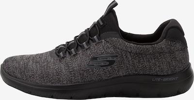 JP1880 Slip-ons in de kleur Donkergrijs / Zwart, Productweergave