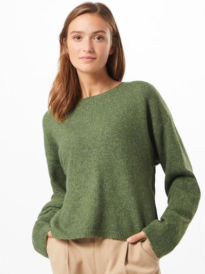 VERO MODA Pullover 'Plaza' in dunkelgrün, Modelansicht