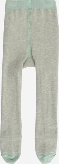 mp Denmark Strumpfhose 'Vigge' in graumeliert / hellgrün, Produktansicht