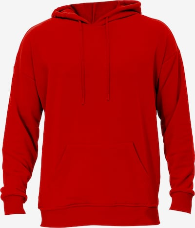 Tom Barron Sweatshirt in rot, Produktansicht
