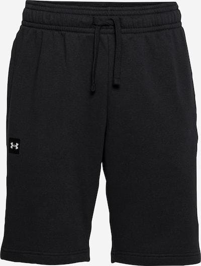 UNDER ARMOUR Športové nohavice 'Rival' - čierna / biela, Produkt