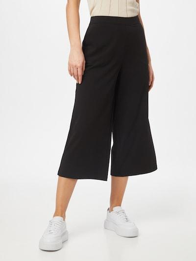 OBJECT Culotte Hose in schwarz, Modelansicht