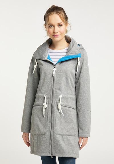 ICEBOUND Mantel in grau, Modelansicht