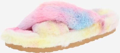 STEVE MADDEN Pantofle 'FUZED' - světlemodrá / světle žlutá / pink, Produkt