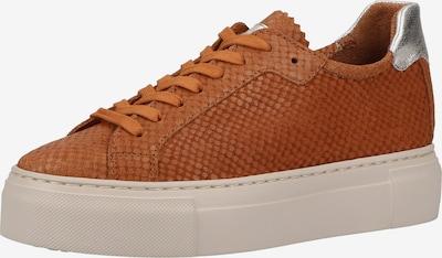 MAHONY Zapatillas deportivas bajas en cognac / plata, Vista del producto