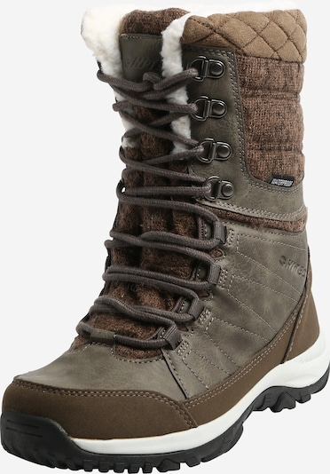 HI-TEC Boots 'Riva' en beige / marron / noir / blanc naturel, Vue avec produit