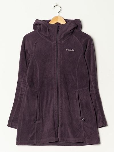 COLUMBIA Fleece in M in dunkellila, Produktansicht