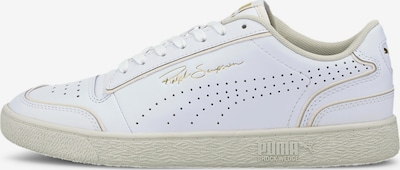 PUMA Sneaker 'Ralph Sampson Lo Perforated Outline' in beige / weiß, Produktansicht