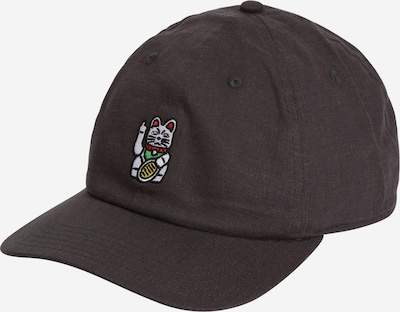 Iriedaily Cap 'Faving Cat' in Yellow / Anthracite / Green / Red / White, Item view