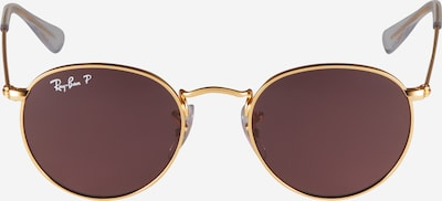 Ray-Ban Sonnenbrille in gold / lila, Produktansicht